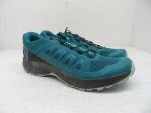 Salomon Women's XA Elevate WP Trail Athletic Shoes Teal/Black Size 8.5M