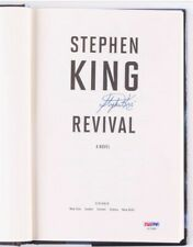 STEPHEN KING SIGNED FIRST EDITION REVIVAL  FROM SIGNING 1/29/2015