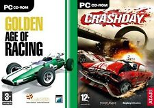 golden age of racing *USED* & crashday *NEW&SEALED*