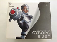 CYBORG NEW 52 BUST DC DIRECT DESIGNED JIM LEE(JUSTICE LEAGUE STATUE TEEN TITANS