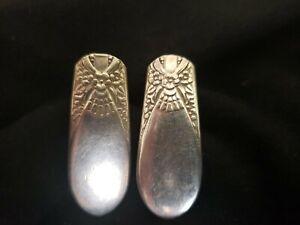 Vintage Sterling Knife Handles Earrings