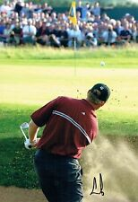 Ernie ELS SIGNED AUTOGRAPH 12x8 Photo 2 AFTAL COA 2002 Muirfield Golf Winner