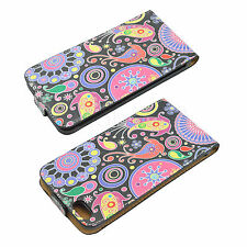 """Flip Phone Leather Cover Slots Card Pouch Case For Apple iPhone 6 Plus 5.5"""""""