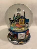 BLOOMINGDALES 1999 BROADWAY NEW YORK MUSICAL SNOW GLOBE TIMES SQUARE TWIN TOWERS