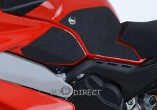 R&G Tank Traction Grip Pads for Ducati Panigale V4 V4S & Speciale Models | Black