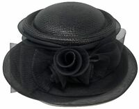 Church DURBY Dress HAT MESH TRIPPLE BOW