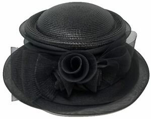 Church DURBY Dress HAT MESH TRIPPLE BOW