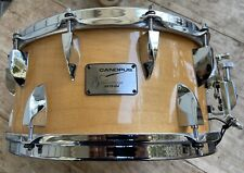 Canopus Neo-Vintage Poplar Maple 6.5 Snare Drum Model NV70-M4 Hand Made In Japan