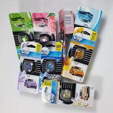 3pcs FEBREZE Car Air Fresheners & Odor Eliminator with Vent Clip for Car Korea