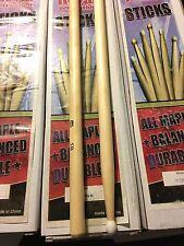 Royal Percussion Drum Sticks 5B Drumsticks Nylon Tip GS5B-N