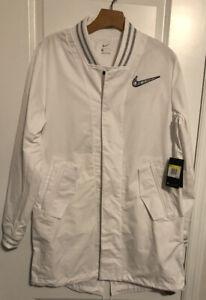Nike Superbowl LIV Media Night White Jacket BQ9304-100 Size Small MSRP $240