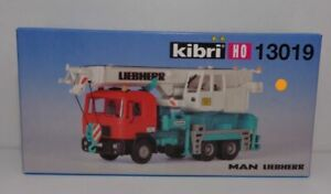 Kibri H0 13019 Bausatz MAN Liebherr Kranwagen NEU & OVP