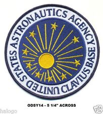 SPACE ODYSSEY - LARGE USAA CLAVIUS PATCH - ODSY14