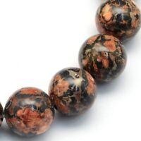Braun 4mm Achat Perlen Matte Natürliche Streifen Edelsteine Achatstein BEST G839