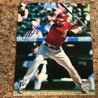 Adam Eaton Signed 8x10 Photo Autograph Arizona Diamondbacks Washington Nationals