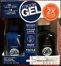 Sally Hansen Miracle Gel 2X Volume Top Coat Duo Set #650 Take The Plunge
