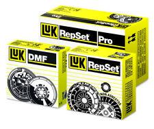 LUK 3PC Repset Clutch Kit + Releaser Release Bearing 619301360