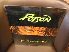 POISON Open Up and Say...Ahh! LP 1988 Enigma Records Sealed [Bret Michaels]
