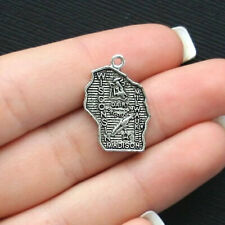8 Oklahoma State Charms Antique Silver Tone SC1555