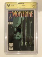 Wolverine #23 CBCS 9.8 signed by Archie Goodwin VERIFIED not CGC SS