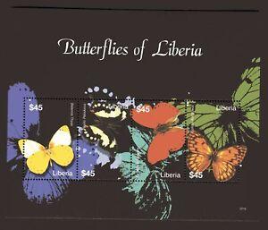 Liberien Kleinbogen Butterflies