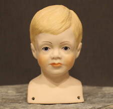 """Cute Bisque Doll Head """"Ken Tuck"""" by Janet E. Masteller - for Ufdc"""