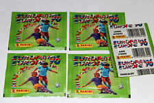 Panini em EC euro 96 1996 – 5 x bolsa Packet bustina über International Edition