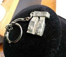 Stonehenge Keychain Vintage Pewter