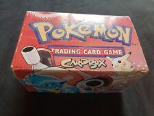 Original Pokemon Card Deck Box 1999 Blastoise Pikachu Charizard Venusaur