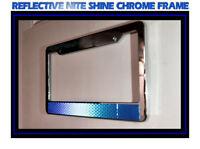 Chrome Plated Plastic License Plate Frame 2 Pack CRU20643-2PK