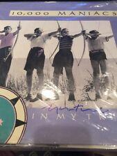 Natalie Merchant 10,000 Maniacs Hand Signed LP W/vinyl Autographed Rare!
