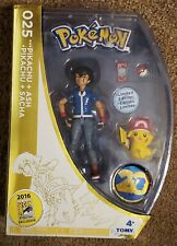 NEW Pokemon 20th Anniversary Ash & Pikachu Exclusive Action Figure