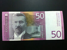 YUGOSLAVIA BANKNOTES - 50 DINARA 2000 + GRATIS 3 BANKNOTES !!
