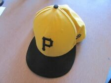 New Era Pittsburgh Pirates 5950 Fitted Hat Classic Official  Cap 7 and 3/8