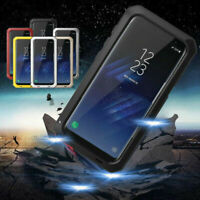Aluminum Shockproof Waterproof Metal Armor Case Cover For Samsung Note9 S10 Plus