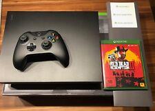 Microsoft Xbox One X + Red Dead Redemption 2 * NEUWERTIG! Rechnung + OVP