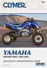 Yamaha Raptor 700R 06-09 Workshop Manual