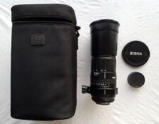 SIGMA 170-500 mm 1:5-6.3 Objectif D APO, Trépied & étui Pour Nikon
