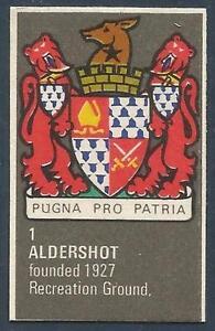 BARTHOLOMEWS 1970'S CREST #001-ALDERSHOT