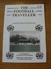04/11/1999 The Football Traveller Magazine: Vol 13 No.13 - Ely Rangers [Cover Im