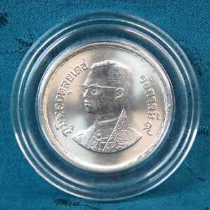 1983 Thailand 10 Baht Coin King Bhumibol Adulyadej Rama IX Postage Stamps 100th
