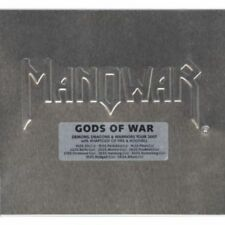 MANOWAR - GODS OF WAR CD + DVD LEDER DIGI METAL SCHUBER