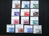 Germany Nazi 1944 Stamps MNG Hero Memorial Day WWII Third Reich German Deutschl