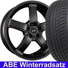 """15"""" ABE Winterräder TEC AS1 Schwarz 185/65 Reifen für Opel Corsa E S-D, S-D/Van"""
