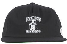 The Hundreds x Death Row Records Snapback Hat Black