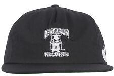 The Hundreds x Death Row Records Snapback Hat Black