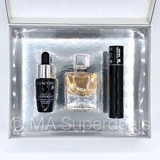 LANCOME La Vie Est Belle EDP 4ml + Genifique 7ml + Mascara - 3 Pcs Gift Set NEW