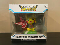 IN HAND * Funko Pop A Day with Pikachu Charged up for Game Day Figure