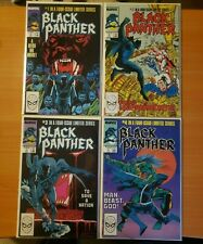 Black Panther 1-4 Complete Set Run! ~ NEAR MINT NM ~ 1988 Marvel Comics