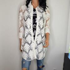 Boho Chic New York City Lace Cardigan Womens Size Small Sz S